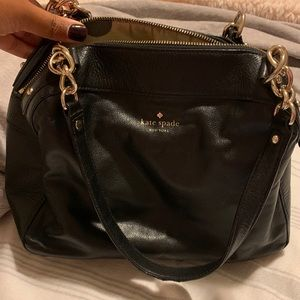 Authentic Pebbled Leather Kate Spade Tote